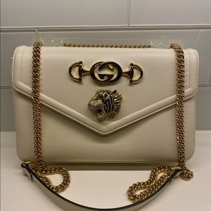 Gucci Rajah Bag (white)